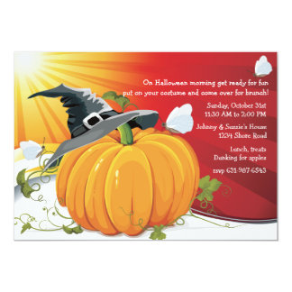 Halloween Dawn Invitation