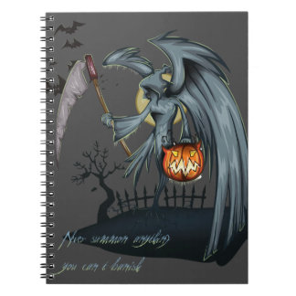 Halloween dead angel costume note books