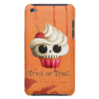 Halloween Deadly Skull Cupcake iPod Touch Case