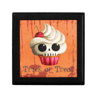 Halloween Deadly Skull Cupcake Gift Box