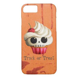 Halloween Deadly Skull Cupcake iPhone 8/7 Case