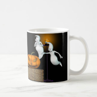 Halloween Deal .. the ghosts hard sell Coffee Mugs