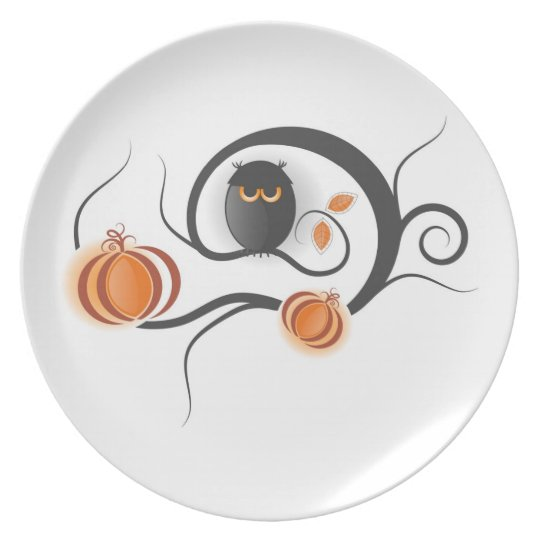 Halloween Decor Plate