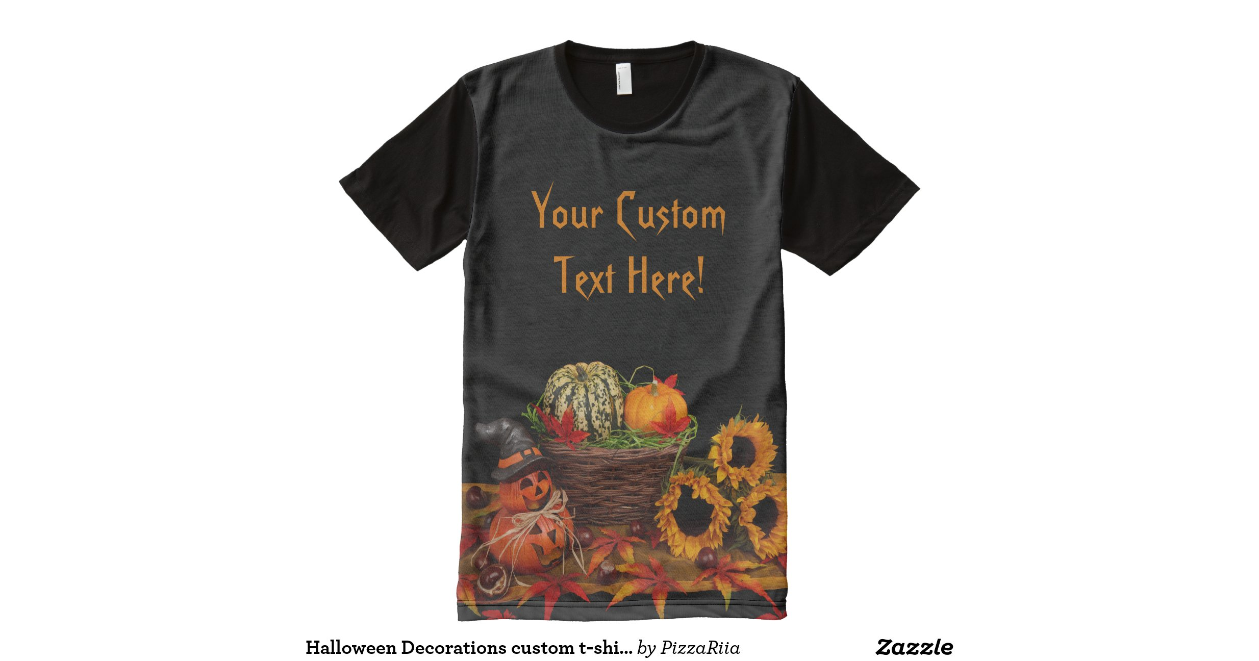 Halloween Decorations Custom T Shirt All Over Print T