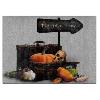Halloween Decorative Glass Cutting Board