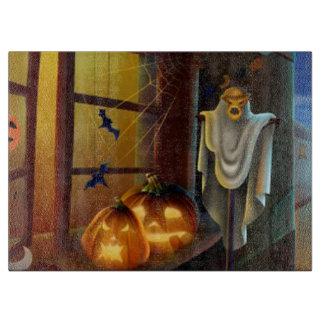 Halloween Decorative Glass Cutting Board/Ghost Cutting Boards