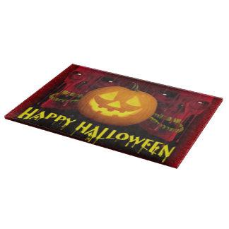 Halloween Decorative Glass Cutting Board/Skulls Cutting Boards