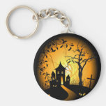 Halloween-design-vector.jpg Basic Round Button Key Ring