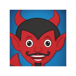 Halloween Devil Canvas Print