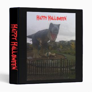 Halloween dinasaur binders