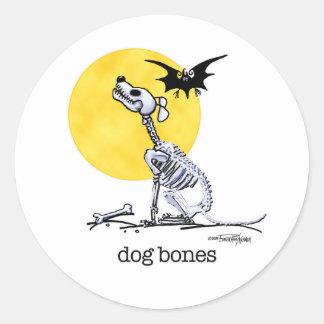 Halloween - Dog Bones stickers