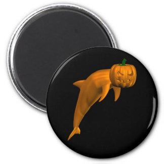 Halloween Dolphin Fridge Magnet