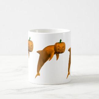 Halloween Dolphin Morphing Mug