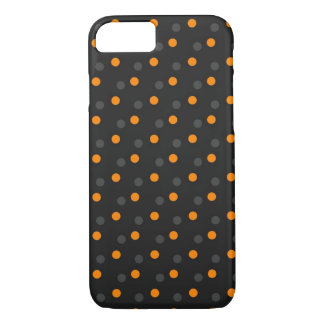 Halloween dots iPhone 8/7, Barely There Phone Case