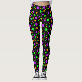 Halloween Dots Leggings