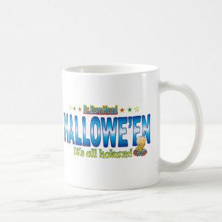 Hallowe'en Dr. B Head Basic White Mug