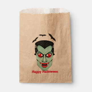 Dracula Halloween Party Favor Bags