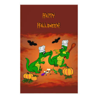 Halloween Dragon Cook, Today I will cook 14 Cm X 21.5 Cm Flyer