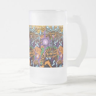 Halloween Dragon Frosted Mug