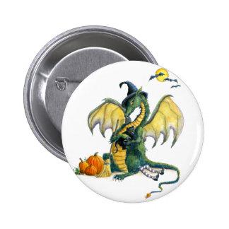 Halloween Dragon pin