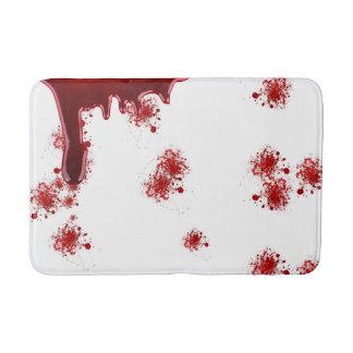 Halloween | Dripping Blood Splatters Pattern Bath Mat