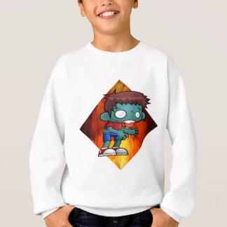 Halloween drooling zombie sweatshirt