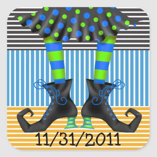 Halloween Drop In - SRF Sticker
