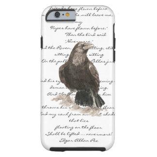 Halloween Edgar Allen Poe Raven Poem Tough iPhone 6 Case