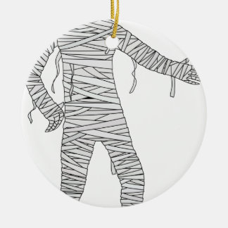 Halloween Egyptian Mummy Christmas Ornament