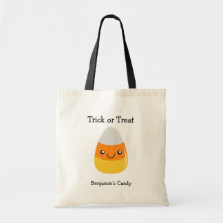 Halloween Emoji Happy Candy Corn Bag
