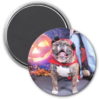 Halloween - English Bulldog - Spike Fridge Magnet