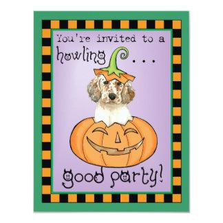 Halloween English Setter 11 Cm X 14 Cm Invitation Card