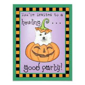 Halloween Eskie 11 Cm X 14 Cm Invitation Card