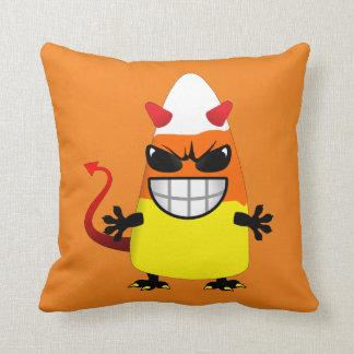 Halloween Evil Candy Corn Cushions