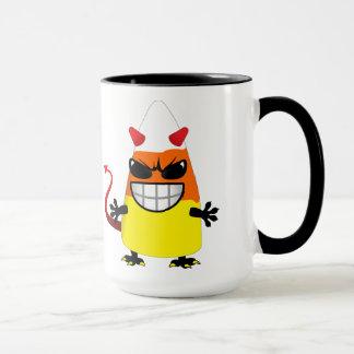 Halloween Evil Candy Corn Mug