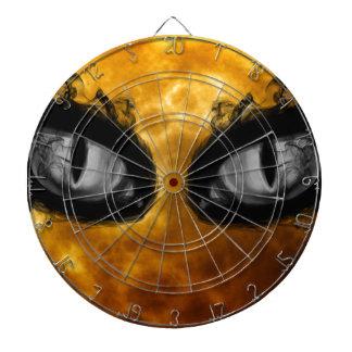 Halloween evil eyes dartboard with darts