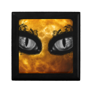 Halloween evil eyes gift box