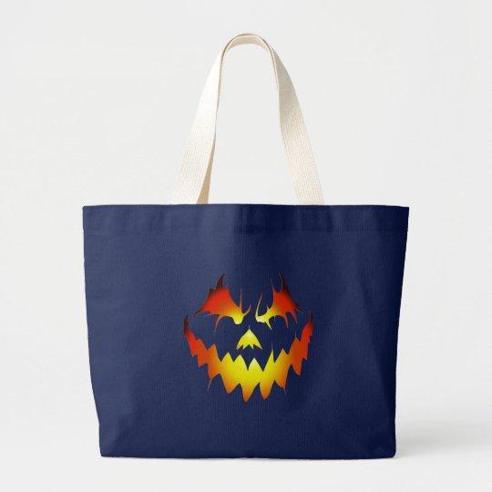 Halloween Evil Face Bag