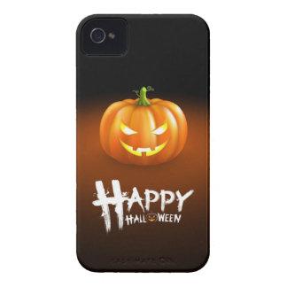 Halloween Evil Pumpkin iPhone 4 cases