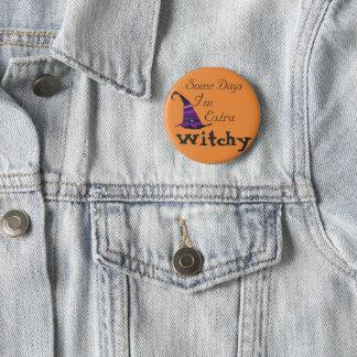 Halloween Extra Witchy 6 Cm Round Badge