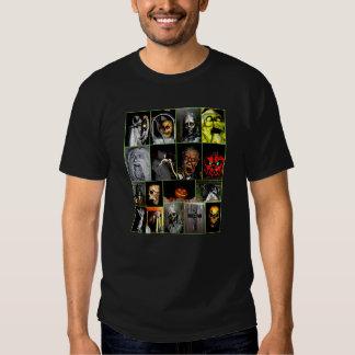 Halloween Faces Tee Shirt