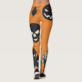 Halloween Fall Leggings