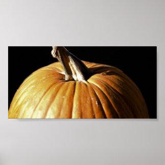 Halloween Fall Pumpkin Poster