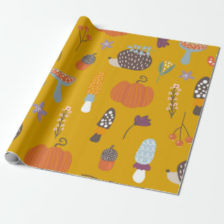 Halloween/Fall wrapping paper