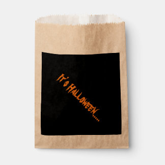 Halloween Favour Bags
