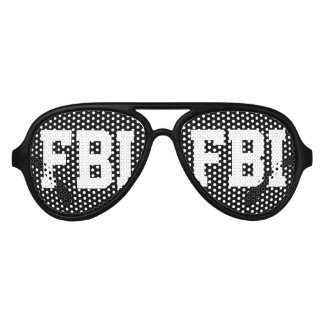 Halloween FBI costume party shades   Black glasses
