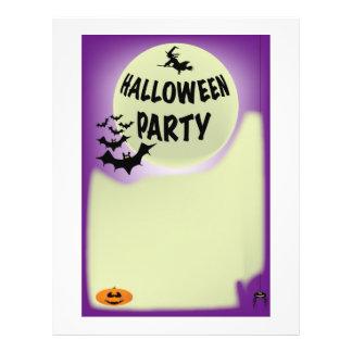 Halloween Flyer. 21.5 Cm X 28 Cm Flyer