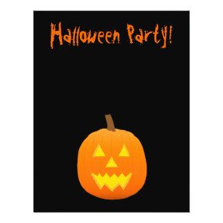 Halloween Flyer: Jack-o-Lantern 21.5 Cm X 28 Cm Flyer