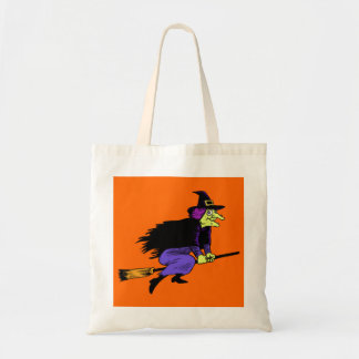 Halloween Flying Witch Bag