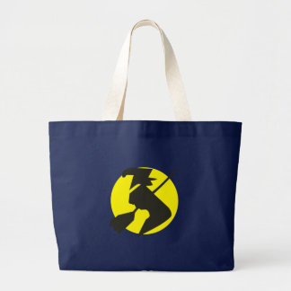 Halloween flying witch flying witch tote bag